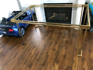 Gold Color Dining Table Moving Sale