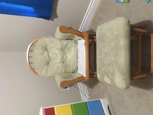 Crib, rocker, Dr. Seuss nursery items- Available in June