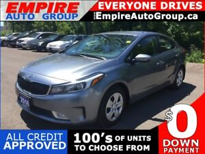2017 KIA FORTE BACKUP CAMERA * HD RADIO * SATELLITE RADIO SYSTEM