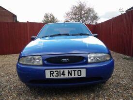 1998 Ford Fiesta 1.25 LX Auto Blue