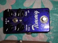 Timmy overdrive and a boss fender reverb pedal