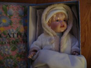 Porcelain Doll - Cathay Collection - New in Box