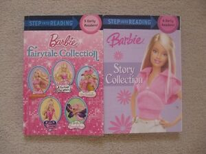Barbie Step Into Reading Books (10 Stories)