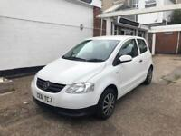 Volkswagen Fox 1.2 ( 60ps ) Polar white, 57293 miles 2 owners group 1 insurance