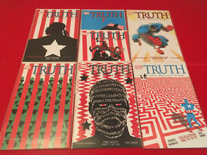 Truth: Red, White & Black (2003) 1-7 complete mini-series