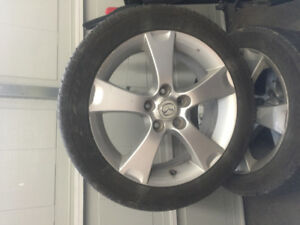 205/50r17 Mazda 3 rims and tires