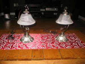 Pair of Bedside Lamps