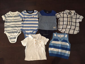 6-12 month baby boy clothing