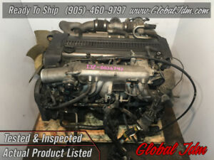 JDM Toyota Supra 1JZGTE Engine Twin Turbo NONVVTI Rear Sump 2.5L