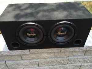 """10"""" PIONEER PREMIER SUBS & PREMIER AMP- NEW"""