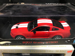 Ford Mustang Shelby GT 500 Elite diecast 1/18 die cast
