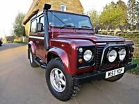 2000 LAND ROVER 90 DEFENDER 2.5 TD5 COUNTRY. FULL SERVICE HISTORY !!