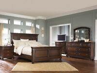 6Pc Ashley furniture bedroom set millenium Porter NEW IN BOX