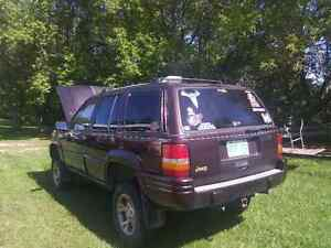 1997 Jeep Grand Cherokee Limited edition SUV, Crossover