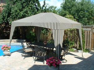 Shademaster Sun Shelter (Gazebo) size 6'x9',9'x9',11'x11',9'x12'