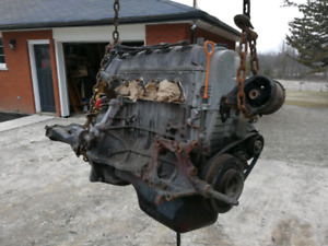 D16Y7 Engine with Transmission