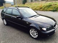 2005 Bmw 320D Se Black. Full Option.12 Months MOT. Swap P.x Welcome