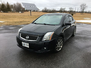 2010 Nissan Sentra SER Sport Package Sedan
