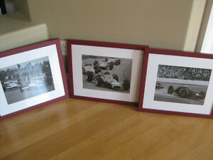 Pottery Barn Framed Race Car Pictures (3) Windsor Region Ontario image 1