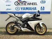 2010 YAMAHA YZF-R125 WHITE, RIDE AWAY TODAY!