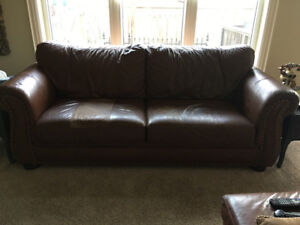 3 piece Matching set...couch...loveseat and ottoman!!!