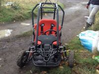 50cc two seater grass cart buggy, two seater leather sports seat