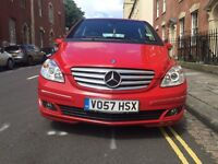 2008 red Mercedes B200 CDI diesel, manual, 12 months mot, full service history, lots of options