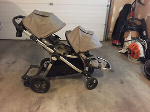City Select Double Stroller + accessories