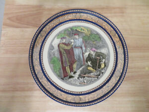 Shakespeare: Hamlet and Gravedigger Plate (England)