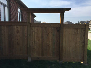 Straightline Fence, Deck and Post Hole Specialist London Ontario image 8