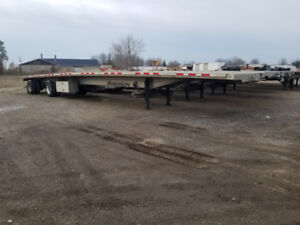 53' Open Flatbed Trailers