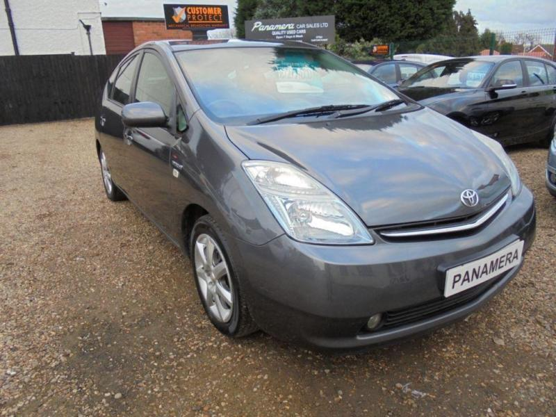 2007 57 TOYOTA PRIUS 1.5 T SPIRIT VVT-I 5D AUTO 77 BHP 1 OWNER FULL LEATHER SAT