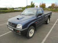 1999 T MITSUBISHI L200 2.5TD 4x4 SINGLE CAB PICK UP TRUCK FOUR WHEEL DRIVE