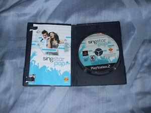 Singstar pop + 2 mic (ps2) à vendre/for sale Gatineau Ottawa / Gatineau Area image 2