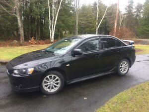 2014 Mitsubishi Lancer SE Sedan - only 25,000 kms