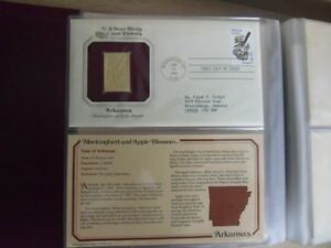 1980's-Postal 24k Gold Replica First Day Of Issue Various Covers
