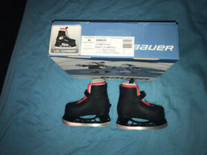 Bauer size 6/7youth ice hockey skates (used for a two year old )