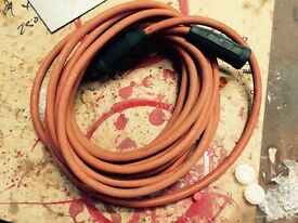 Arc welding lead, with clamp, stick weld