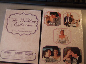 The Wedding Collection - 5 DVD movies- $3