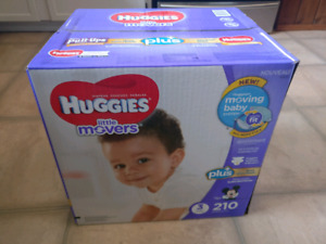 Huggies Little Movers size 3 - 210 count
