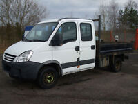 .2007/57 Iveco/ DILY 35.12 CREW/CAB TIPPER 2.3 DIESEL