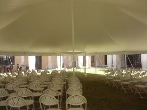 RENT THE TENT, TABLES AND CHAIRS FOR YOUR EVENT