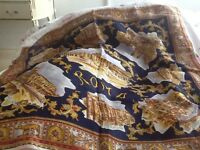 Patterned scarf think it's silk