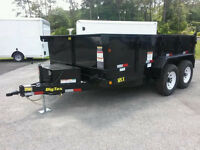 Dump Trailer Rental / Flat Rate Moving Service
