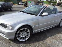 2002 BMW 318i 2.0 Petrol Convertible