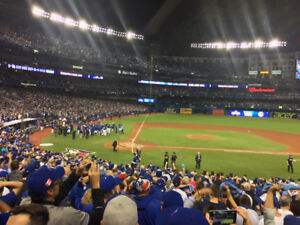 BLUE JAYS TICKETS:  SEATS WITH THE AWESOME VIEW YOU SEE HERE!!!