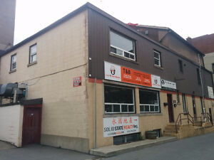 Affordable commercial space for lease