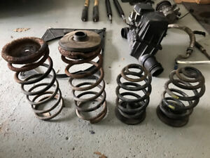 BMW 325is (E30) Part Out (Springs, Shocks, Intake, Fans etc.)