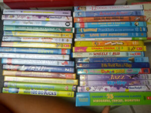 Kid's DVD's and CD's