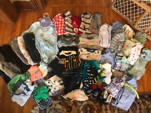 Baby Boys 6-12 month Clothing Lot